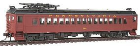 Con-Cor Electric Powered mP54 MU Coach Pennsylvania Railroad HO Scale Model Passenger Car #194513