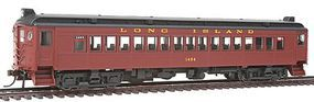 Con-Cor mP54 MU Coach Long Island Rail Road (Tuscan) HO Scale Model Train Passenger Car #194517