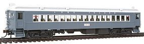Con-Cor Electric Powered mP54 MU Coach Long Island Rail Road HO Scale Model Passenger Car #194519