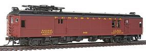 Con-Cor Electric Powered mP54 MU Baggage-Mail Penn Railroad HO Scale Model Passenger Car #194524