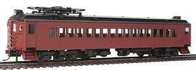 Con-Cor Electric mP54 MU Coach Painted, Unlettered HO Scale Model Train Passenger Car #194553