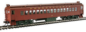 Con-Cor MU Coach Pennsylvania RR Pre-War HO Scale Model Train Passenger Car #194607