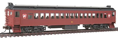 Con-Cor Electric Non-Powered mP54 MU Coach Pennsylvania Railroad HO Scale Model Passenger Car #194611