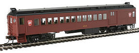 Con-Cor MU Comb Pennsylvania RR Keystone HO Scale Model Train Passenger Car #194643