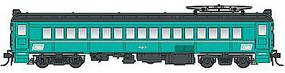 Con-Cor Electric mP54 MU Coach Penn Central HO Scale Model Train Passenger Car #194644