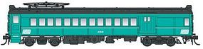 Con-Cor Electric mP54 MU Combine Penn Central HO Scale Model Train Passenger Car #194650