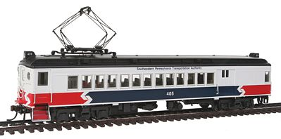 Con-Cor mP54 MU Combine Unpowered SEPTA -- HO Scale Model Train Passenger Car -- #194653