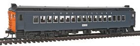 Con-Cor mP54 MU Coach Standard DC Long Island HO Scale Model Train Passenger Car #194654