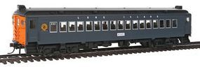 Con-Cor mP54 MU Coach Standard DC Long Island HO Scale Model Train Passenger Car #194657