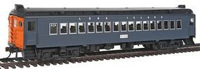 Con-Cor mP54 MU Coach Standard DC Long Island #4154 HO Scale Model Train Passenger Car #194671