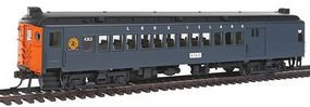Con-Cor mP54 MU Combine Unpowered Long Island #4363 HO Scale Model Train Passenger Car #194675