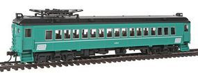 Con-Cor MU Coach Powered Penn Central Alum A HO Scale Model Train Passenger Car #194676