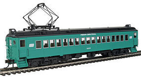 Con-Cor MU Coach powered Penn Central Alum B #2 HO Scale Model Train Passenger Car #194683