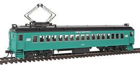 Con-Cor MU Coach Penn Central Alum B HO Scale Model Train Passenger Car #194684