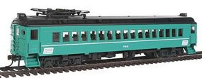 Con-Cor mP54 MU Coach Standard DC Penn Central #753 HO Scale Model Train Passenger Car #194735