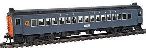 Con-Cor MU Coach powered Long Island #3 gray HO Scale Model Train Passenger Car #194744