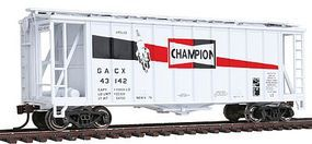 Con-Cor GATX Airslide Hopper 2-Pack Champion Spark Plugs HO Scale Model Train Freight Car #197012