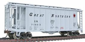 GATX Airslide Covered Hopper Great Northern HO Scale Model Train Freight Car #197057