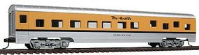 Con-Cor 72 Streamline Sleeper Rio Grande Ski Train HO Scale Model Train Passenger Car #19801