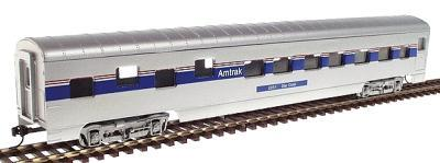 Con-Cor 72 Streamlined Pullman Sleeper Amtrak Phase IV HO Scale Model Train Passenger Car #198023