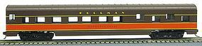 Con-Cor 72 Streamline Sleeper Illinois Central HO Scale Model Train Passenger Car #19806
