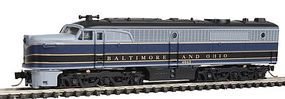 Con-Cor Diesel ALCO PA-1 A Unit Powered Baltimore & Ohio N Scale Model Train #202013