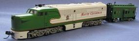 Con-Cor Diesel ALCO PA1 Standard DC Christmas N Scale Model Train #202025