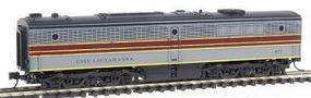 Con-Cor Diesel ALCO PB-1 Cabless B Unit Dummy Erie Lackawanna N Scale Model Train #202061
