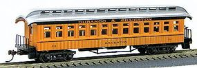 Con-Cor 1880s Wood Open-Platform Coach Durango & Silverton HO Scale Model Train Passenger Car #227