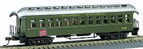 Con-Cor 1880s Wood Open-Platform Coach Canadian National HO Scale Model Train Passenger Car #232