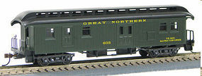 Con-Cor Open Platform Baggage GN HO Scale Model Train Passenger Car #330