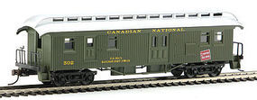 Con-Cor Open Platform Baggage Canadian National HO Scale Model Train Passenger Car #332