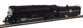 Con-Cor Steam GS-4 4-8-4 Wartime Version Powered Western Pacific #485 N Scale Model Train #3880