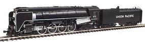 Con-Cor Steam 4-8-4 with Coal Bunker Tender Union Pacific #387 N Scale Model Train #3886