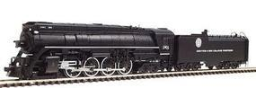 Con-Cor Steam 4-8-4 with Coal Bunker Tender Denver & Rio Grande #1801 N Scale Model Train #3894