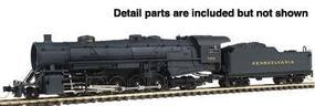 Con-Cor Steam USRA Heavy 2-10-2 Standard DC Undecorated N Scale Model Train #3900