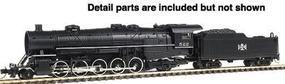 Con-Cor Steam USRA Heavy 2-10-2 Standard DC Bessemer & Lake Erie #1 N Scale Model Train #3904