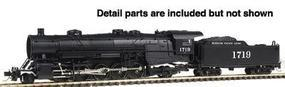 Con-Cor Steam USRA Heavy 2-10-2 Standard DC Missouri Pacific #2 N Scale Model Train #3917