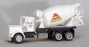 Con-Cor American Redi-Mex Concrete Truck Aztec HO Scale Model Railroad Vehicle #4002028