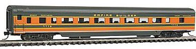 Con-Cor 85 Smooth-Side Coach Great Northern Empire Builder N Scale Model Train Passenger Car #40024