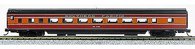 Con-Cor 85' Smooth-Side Coach Southern Pacific Daylight -- N Scale Model Train Passenger Car -- #40026