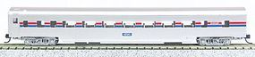 Con-Cor 85 Smooth-Side Coach Amtrak N Scale Model Train Passenger Car #40029
