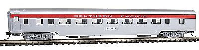 Con-Cor 85' Smooth-Side Coach Southern Pacific San Joaquin -- N Scale Model Train Freight Car -- #40032