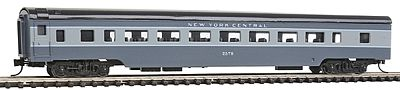 Con-Cor 85' Smooth-Side Coach New York Central -- N Scale Model Train Passenger Car -- #40035