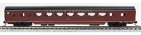 Con-Cor 85 Smooth-Side Coach Norfolk Southern N Scale Model Train Passenger Car #40044