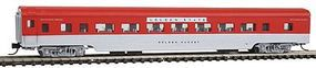 Con-Cor 85 Smooth-Side Coach Southern Pacific Golden N Scale Model Train Passenger Car #40056