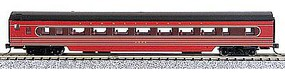 Con-Cor 85 Smooth-Side Coach Pennsylvania Railroad N Scale Model Train Passenger Car #40058