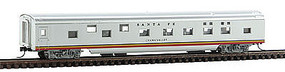 Con-Cor 85 Passenger Car Pullman Sleeper ATSF N Scale Model Train Passenger Car #40077