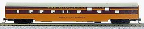 Con-Cor 85 Smooth-Side Sleeper Milwaukee Road N Scale Model Train Passenger Car #40086