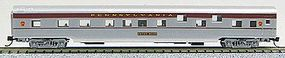 Con-Cor 85 Smooth-Side Sleeper Pennsylvania Railroad N Scale Model Train Passenger Car #40089